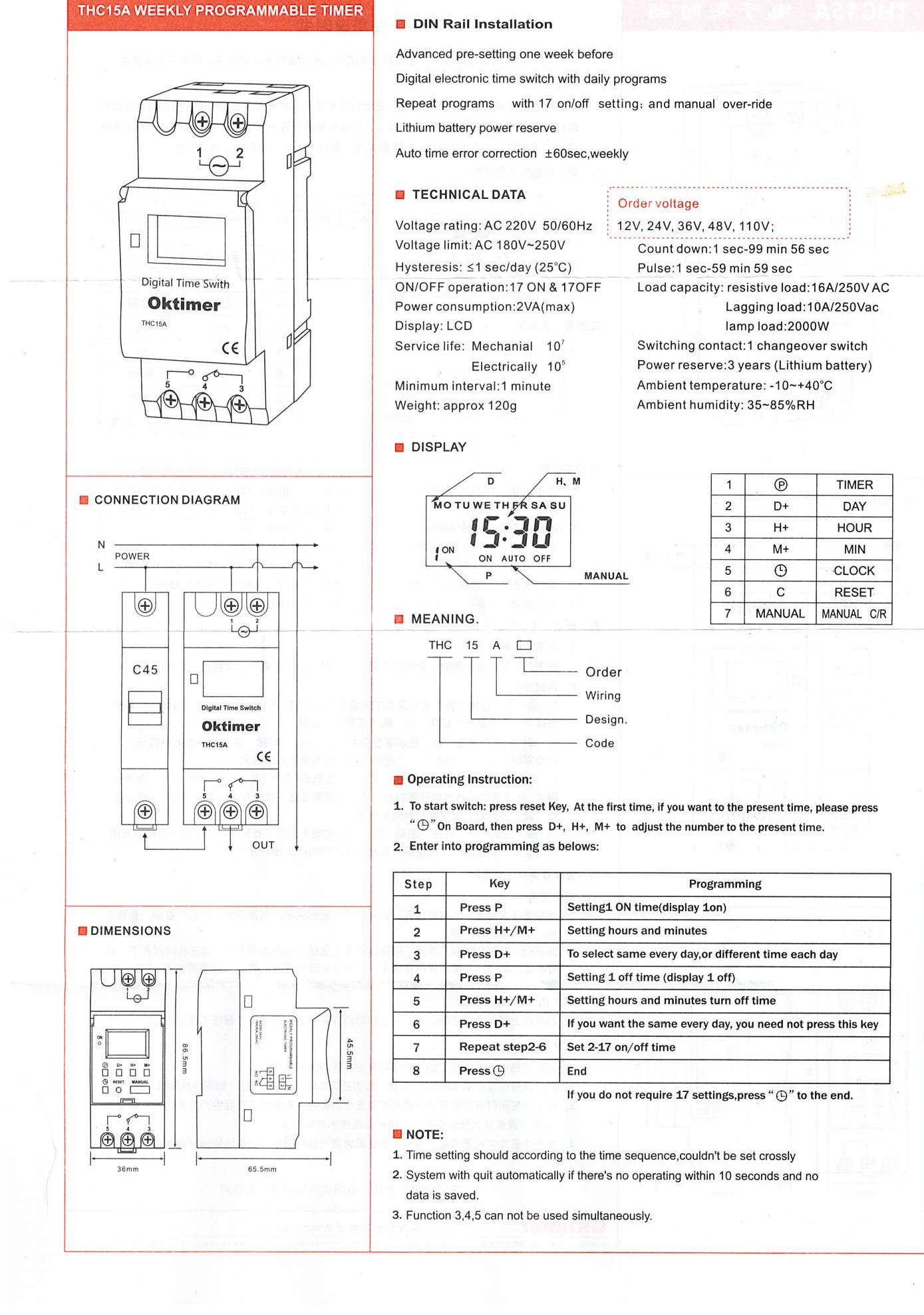 7 day timer 12v dcautomatic transfer switches manual transfer 7 day timer data sheet pooptronica Choice Image