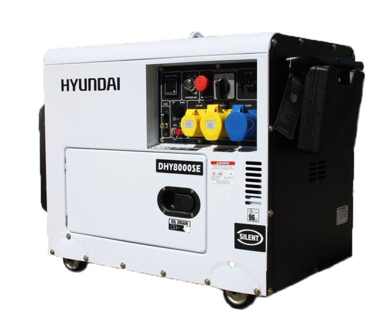 Hyundai Vehicle Service Contract: Generator DHY8000SE Automatic Transfer Switches