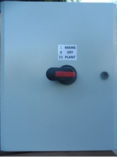 Picture of Manual Transfer - 80 Amp ABB Single Phase