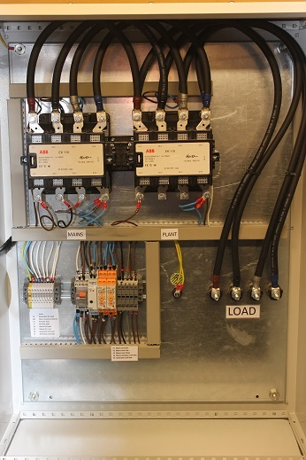 picture of changeover ats - 25 amp abb single phase