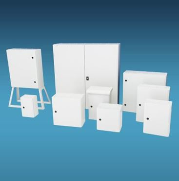 Picture for category IP65 Steel Enclosures