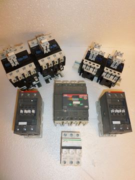Picture of 100 Amp ABB 3 Pole Contactor Set