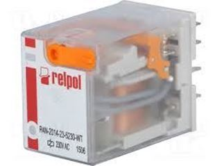 Picture of 4 Pole Relay 240v Ac