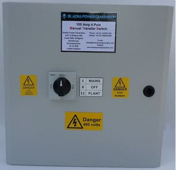 Picture of Manual Transfer - 125 Amp Lovato 3 Phase N