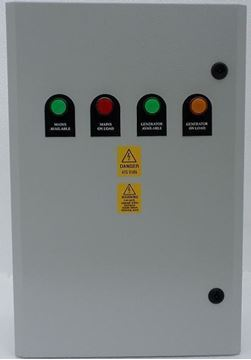 Picture of Changeover  ATS - 125 Amp Lovato Single Phase