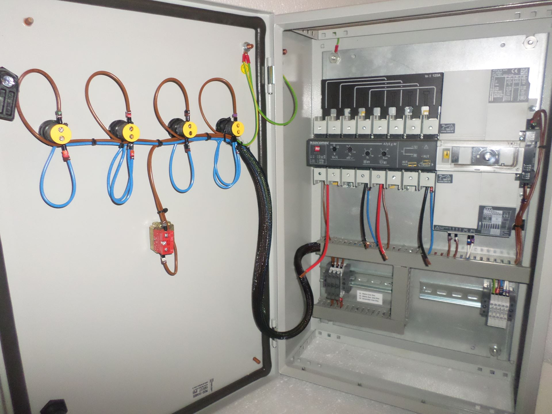 Socomec Atys Automatic Transfer Switches