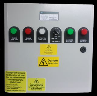 Picture of Inverter Changeover Panel 12v D/c 1500w