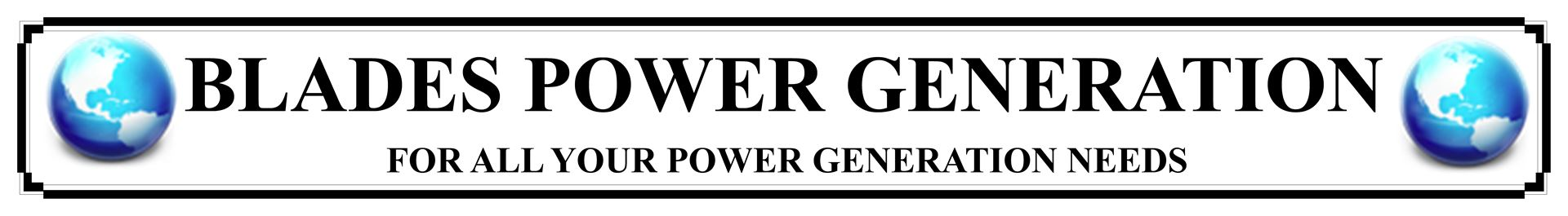 Blades Power Generation Ltd
