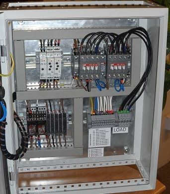 Changeover ATS - 30 Amp ABB 3 Phase NQuality Power Panels