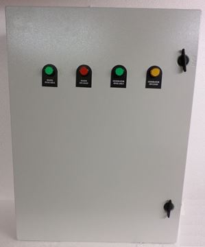 Picture of Changeover ATS - 500 Amp  Lovato 3 Phase N