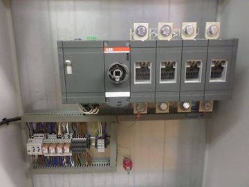Picture of Motorized 630 Amp 4 Pole